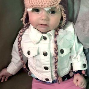 Cutest Baby Jean Jacket